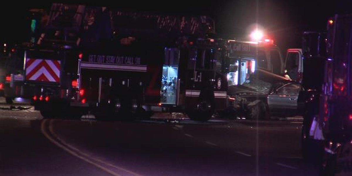 One man dead from accident that police say could be the result of street racing