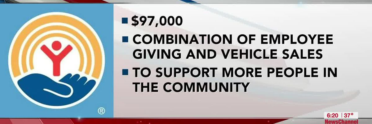 VIDEO: AutoInc provides 'much needed' donation to United Way of Amarillo and Canyon