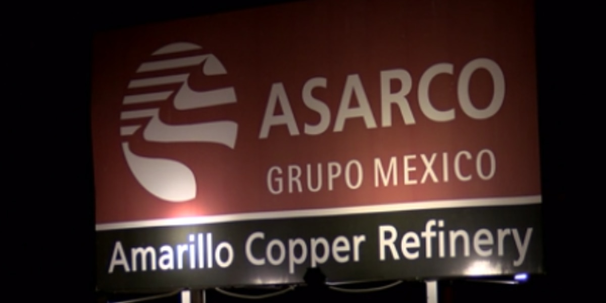 ASARCO employees striking against unfair labor practices in Amarillo