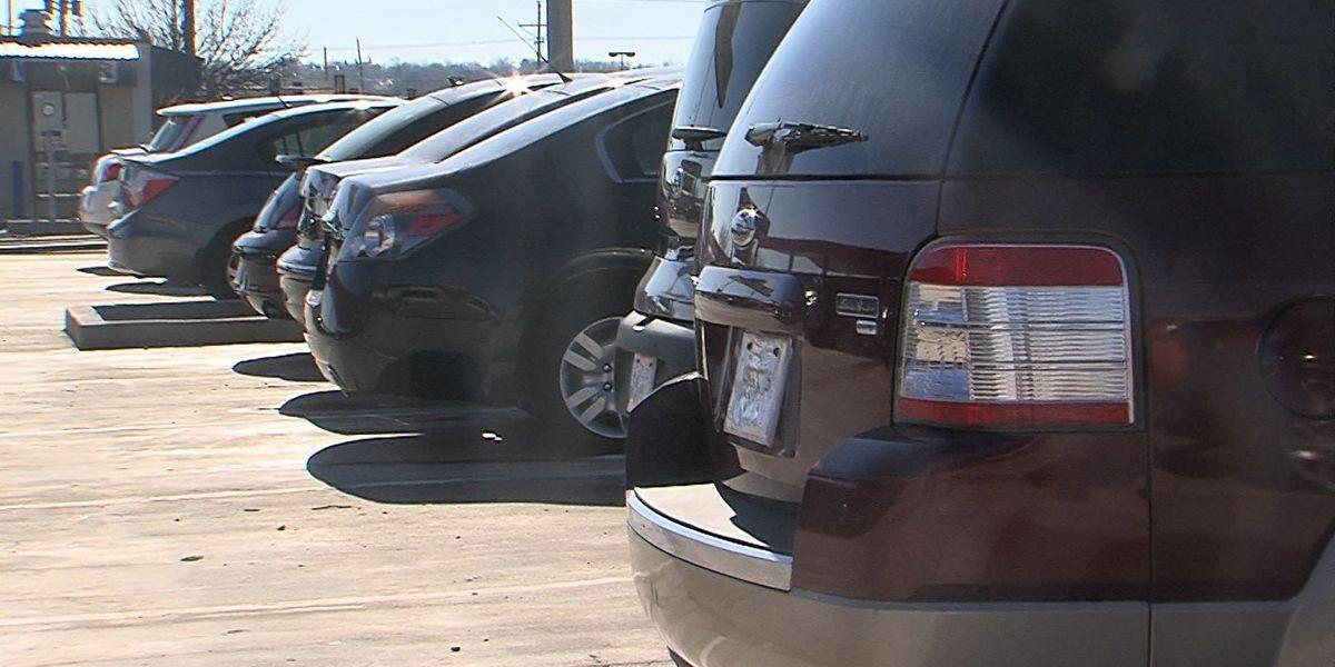 Local auto sales decrease as nation's sky rocket