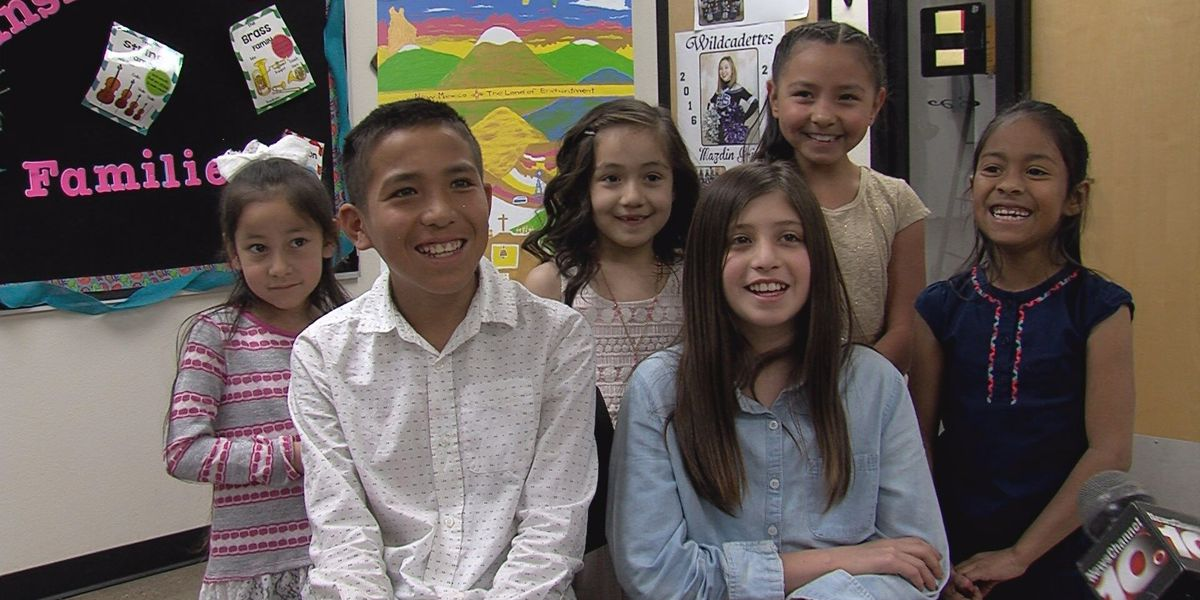 Clovis elementary students represent New Mexico at WH Easter Egg Roll