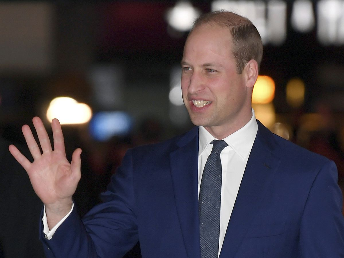 Prince William reveals he's been a helpline volunteer