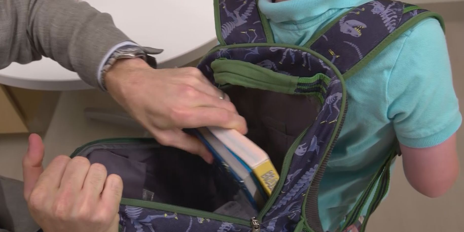 Amarillo chiropractor warns of increase of kids with back issues due to backpacks