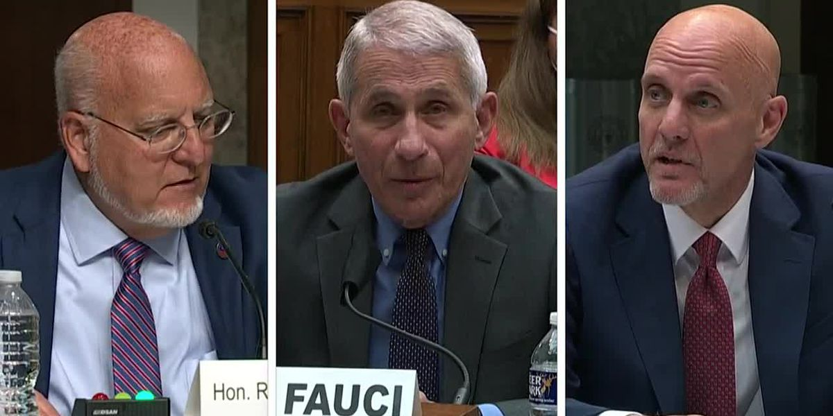 US hits grim milestone as Fauci, Redfield testify
