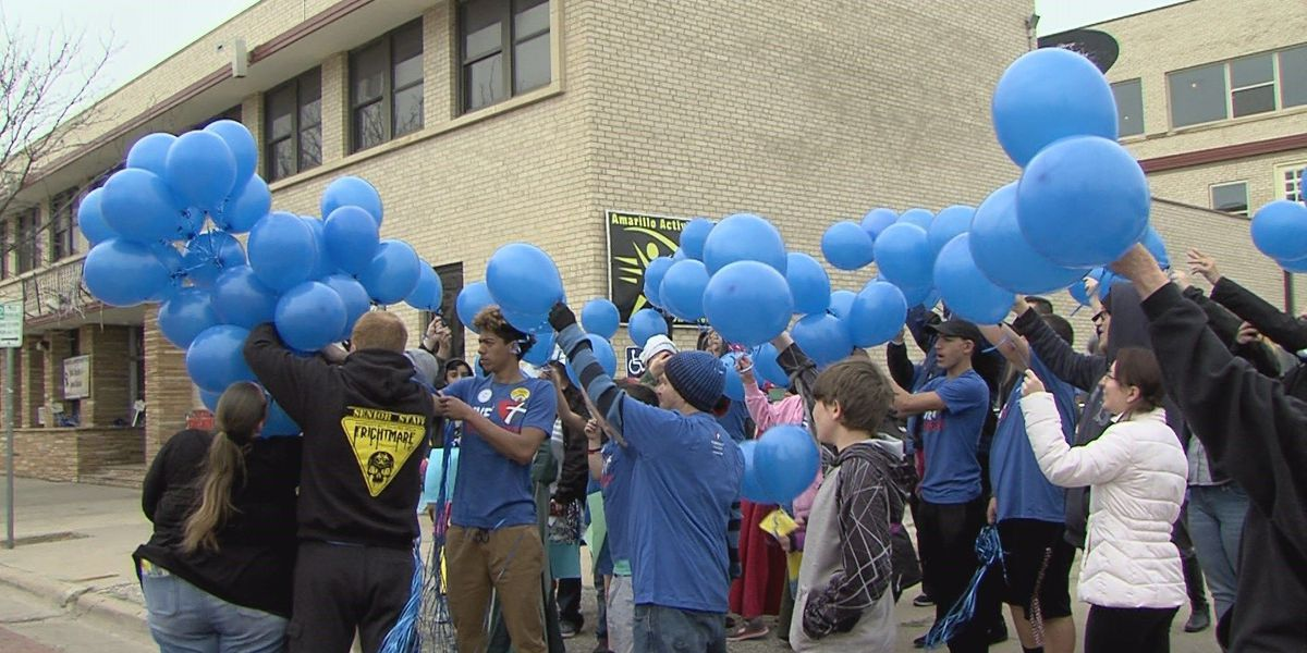 AAYC draws community support at Child Abuse Prevention and Awareness rally