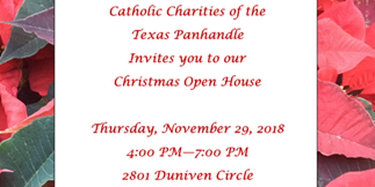 Catholic Charities of the Texas Panhandle hosting Christmas Open House