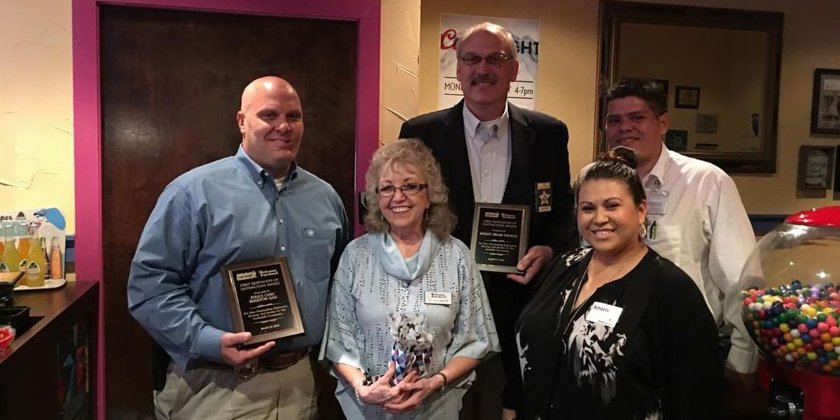 Two Amarillo-area law enforcement officers nominate each other for same award