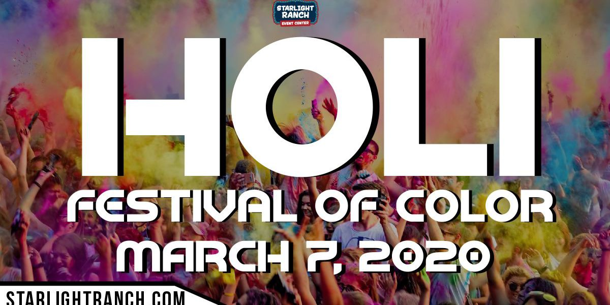 Holi Festival of Color to welcome spring on Saturday
