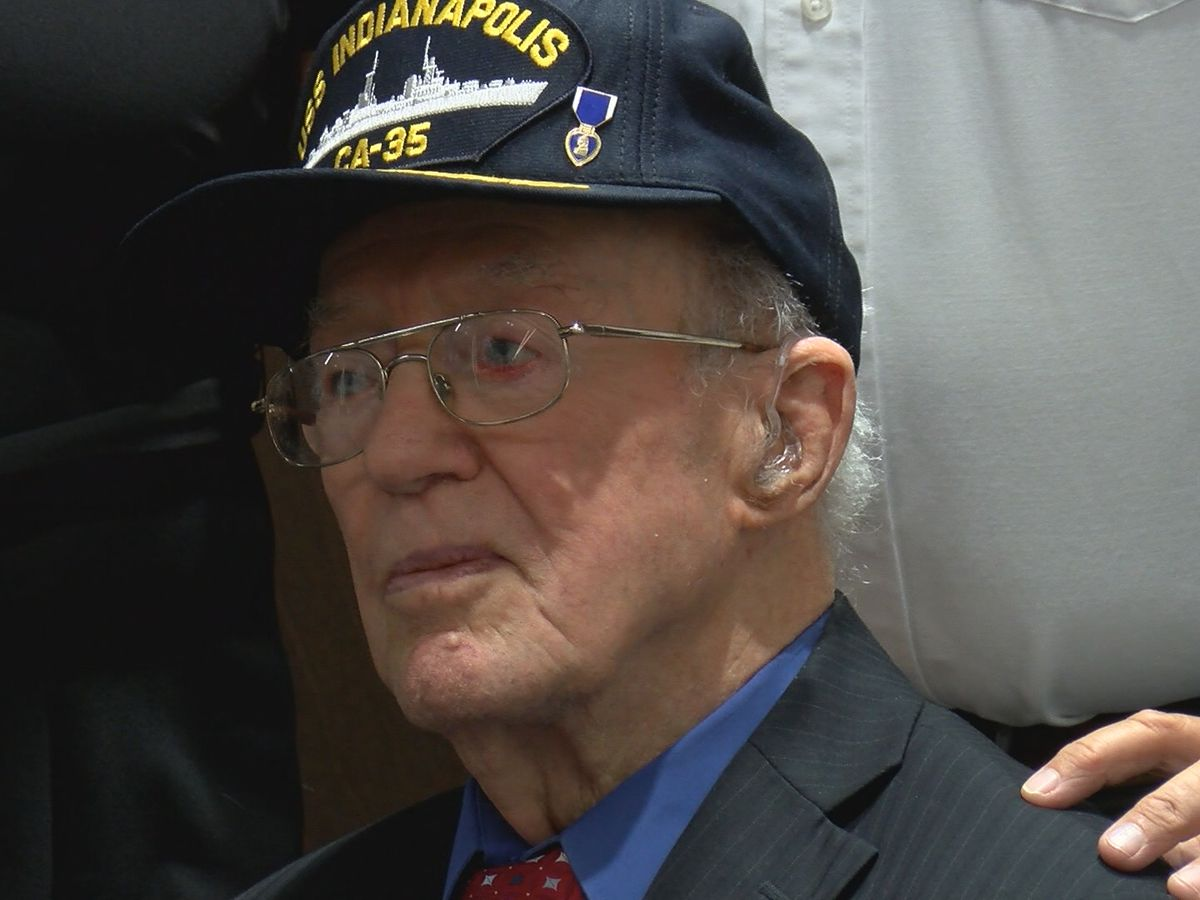 Memphis is home to Texas' only survivor of the USS Indianapolis