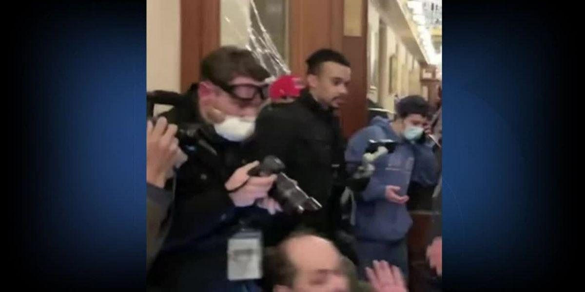 Utah activist faces charges after releasing video of Capitol riots; says was there only to document