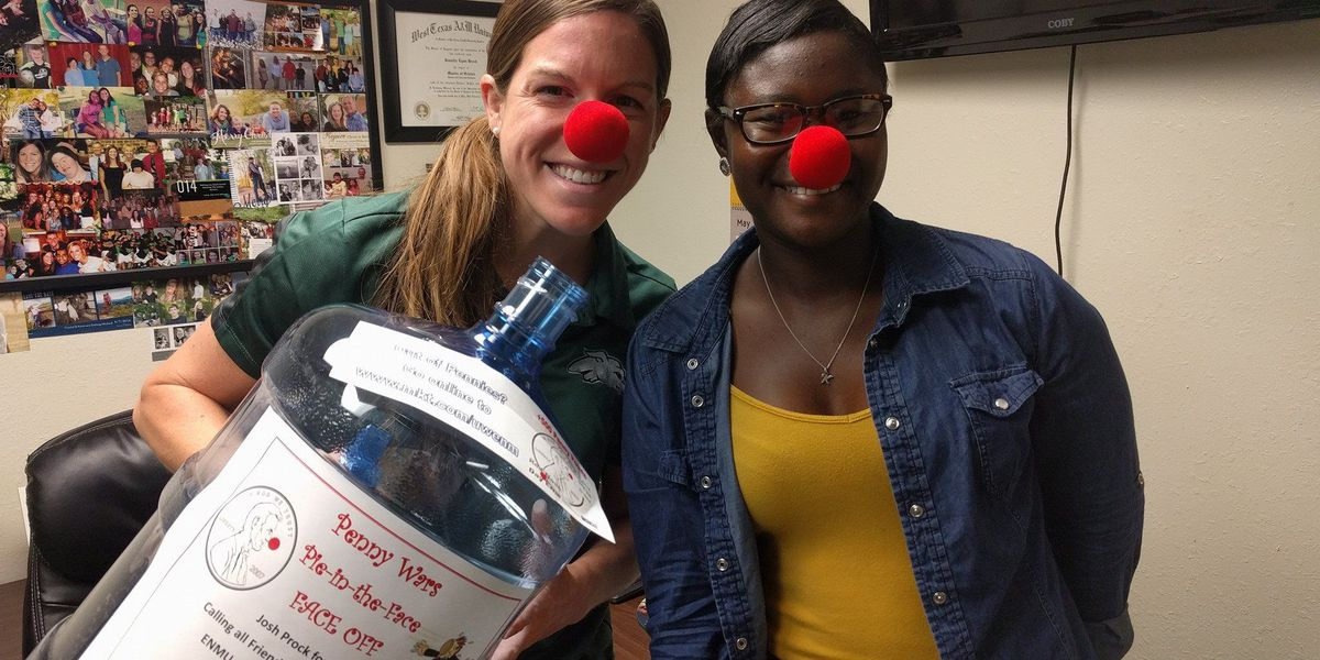 Eastern New Mexico holds Red Nose Day for children in need