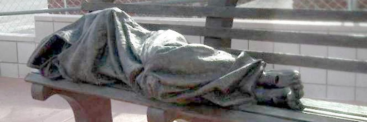 'Homeless Jesus' statue in Nevada designed to raise awareness, build compassion