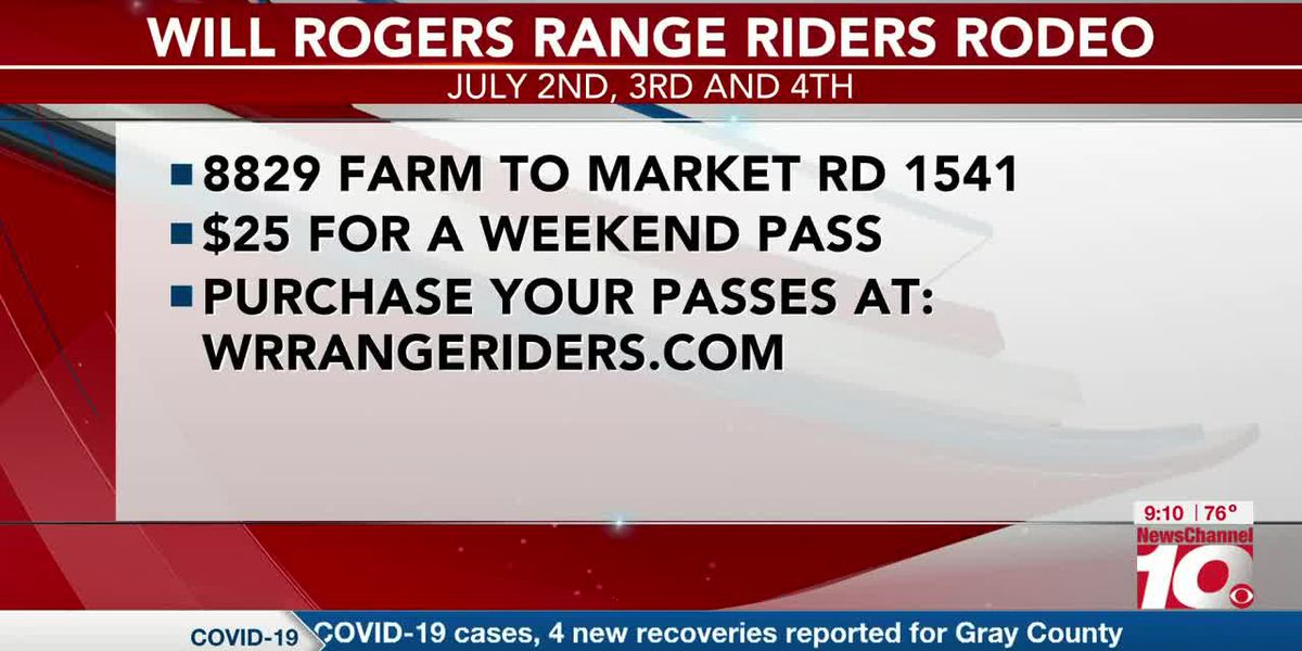 INTERVIEW: Will Rogers Range Riders Rodeo is set for July