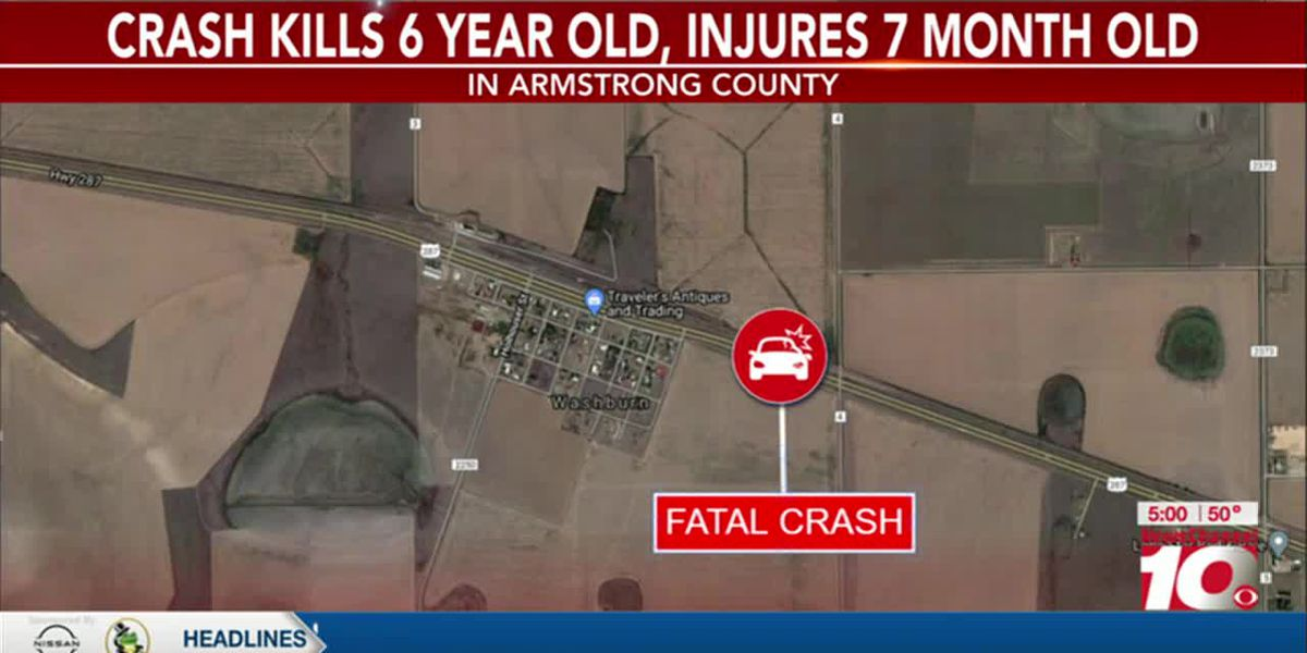 VIDEO: 6-year-old killed, infant injured in crash on US 287 in Armstrong County