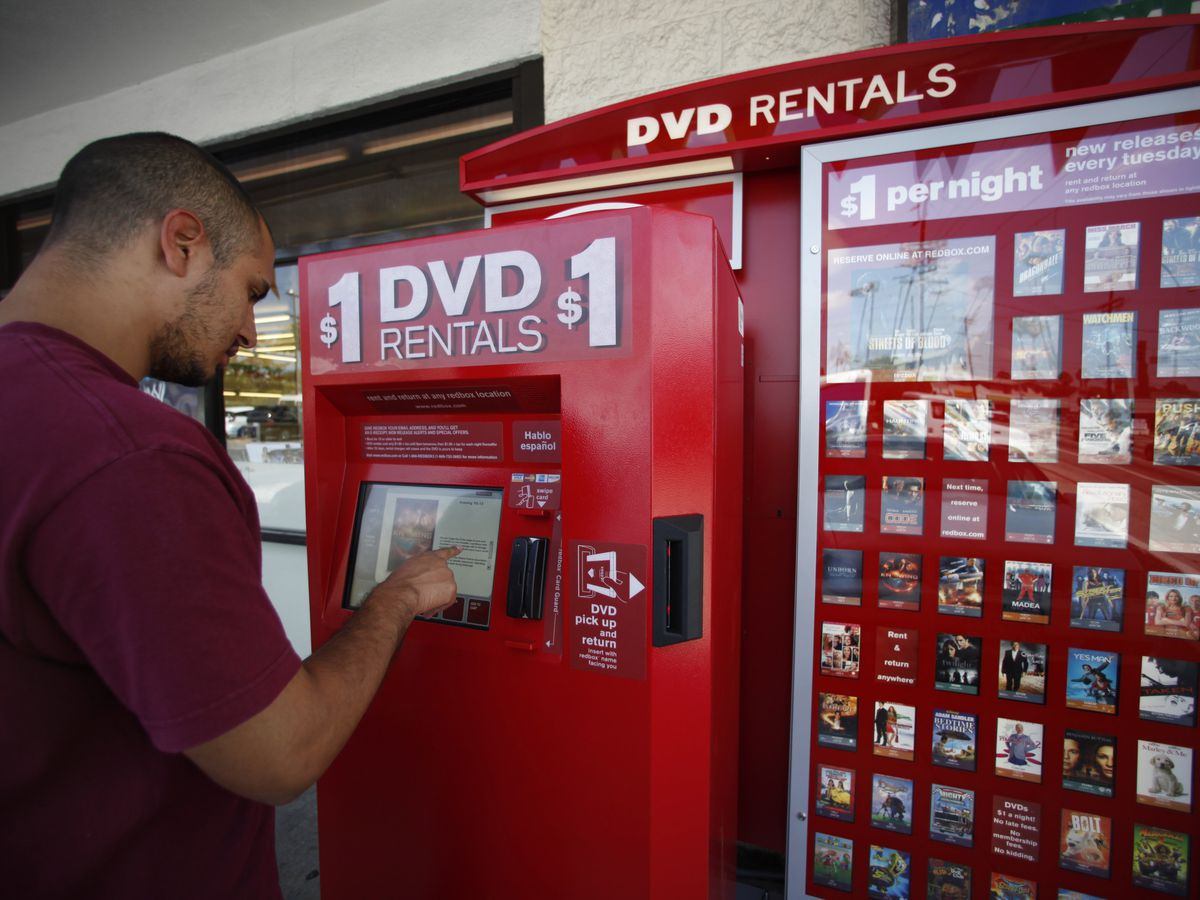 Redbox ends game rentals, cites industry changes
