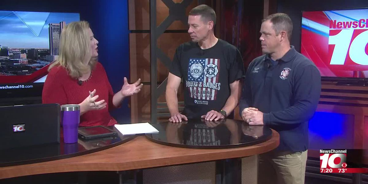 INTERVIEW - Ricky Jones and Cpl. Toby Hudson talk about the Boots vs Badges softball game