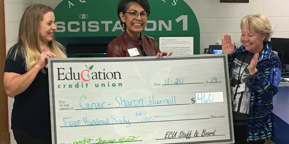 Education Credit Union donates more than $44,000 in Pocket Change Grants to area schools