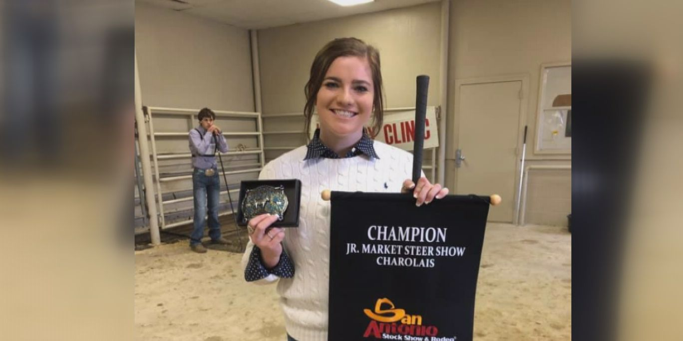 Canyon teen wins big at San Antonio Stock Show & Rodeo