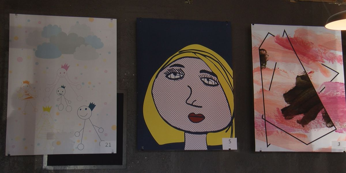 The HeArt of CASA event showcases the re-imagined artwork of foster children