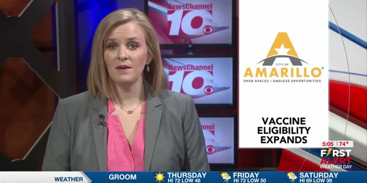VIDEO: City Amarillo extending COVID-19 vaccine availability to Phase 1C starting Monday