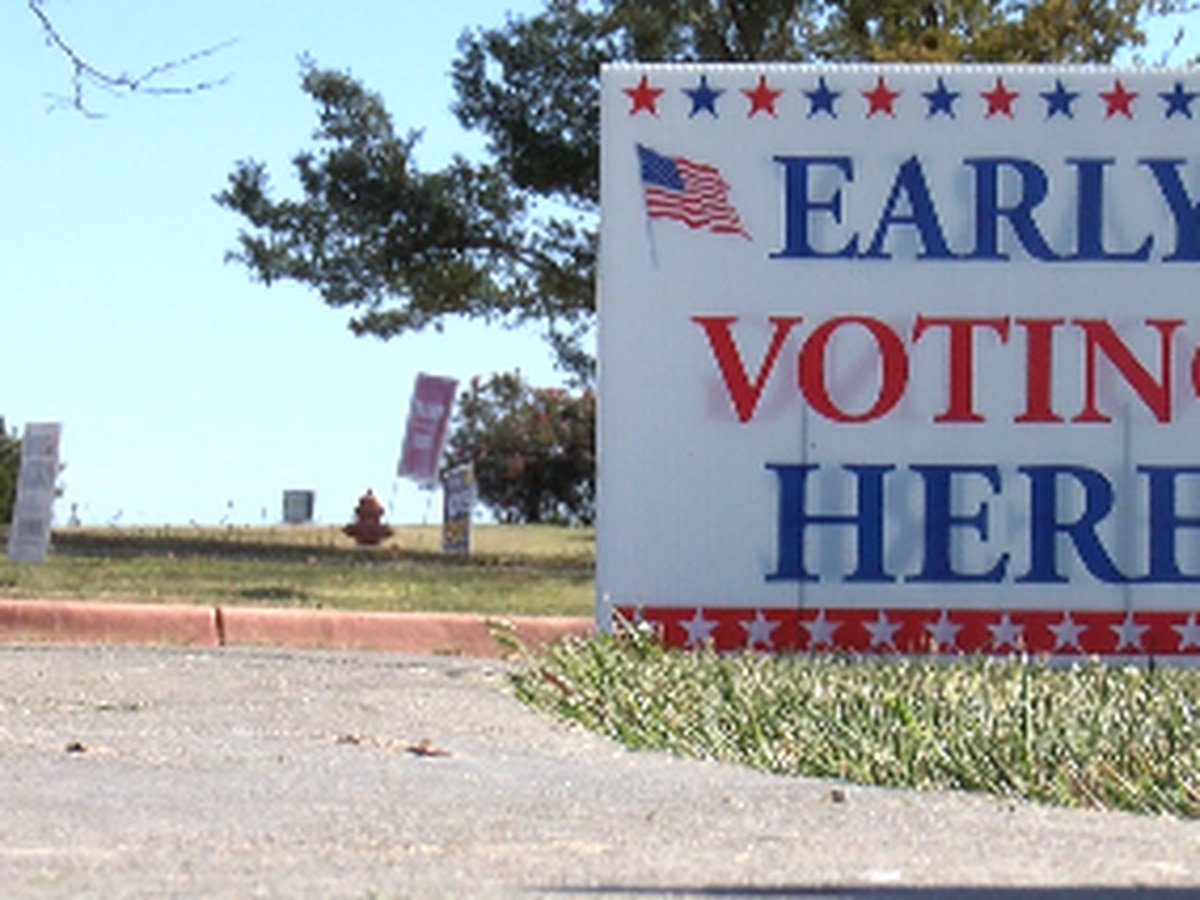 Early voting in Texas to start Monday