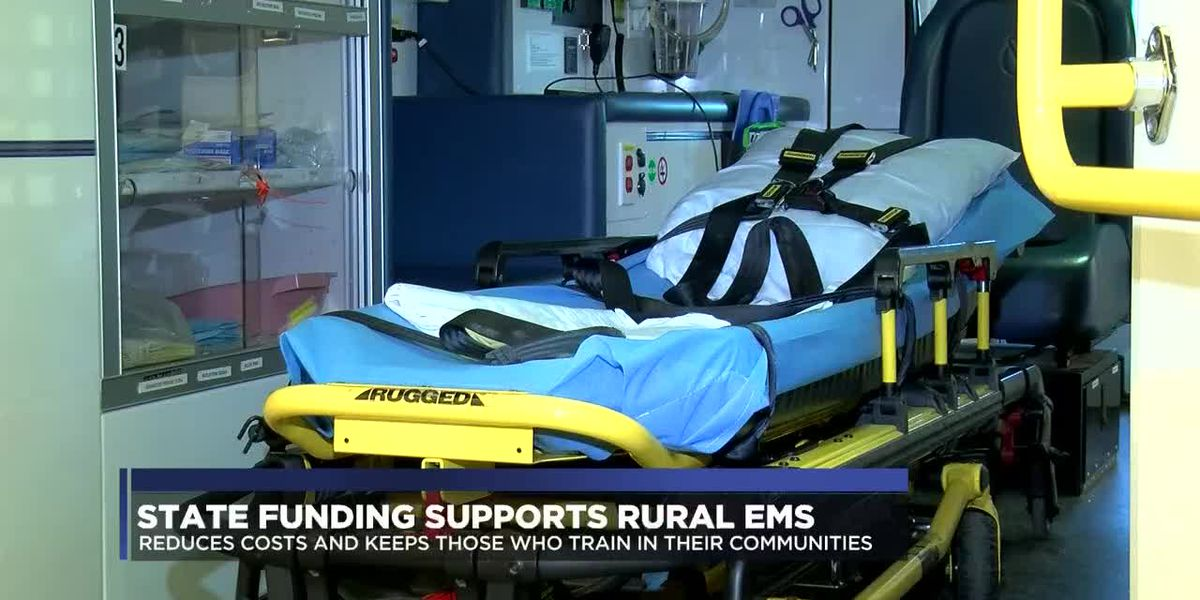 State funding supports rural emergency medical services