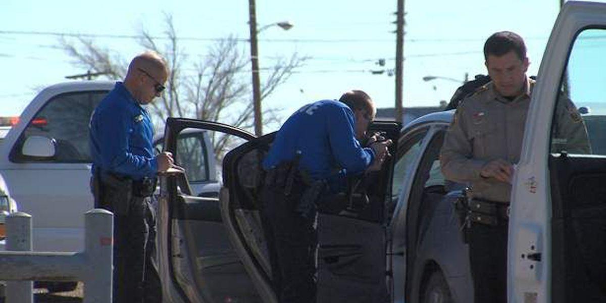 Police chase ends in car breakdown, driver arrest