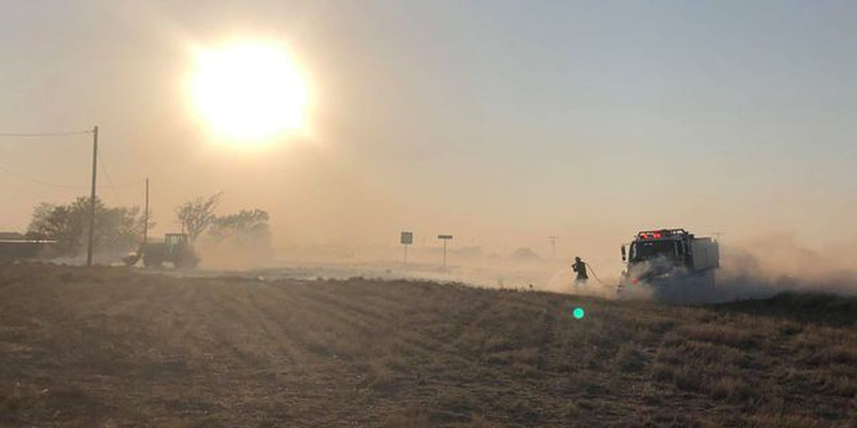 Fire near Highway 60 now 60 % contained