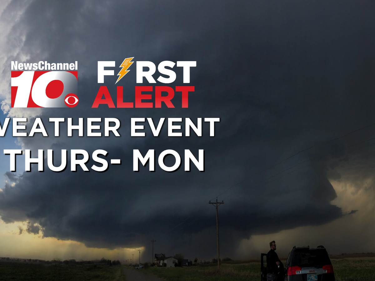 FIRST ALERT: Strong thunderstorms and severe weather conditions return Thursday through the weekend