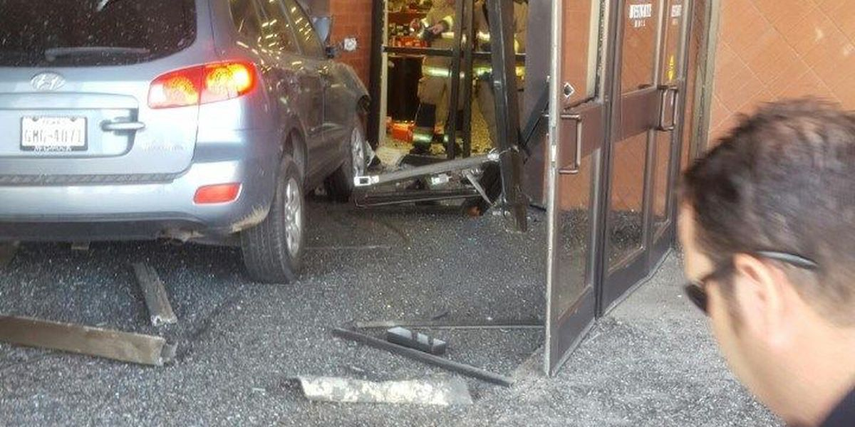 Driver crashes into Westgate Mall