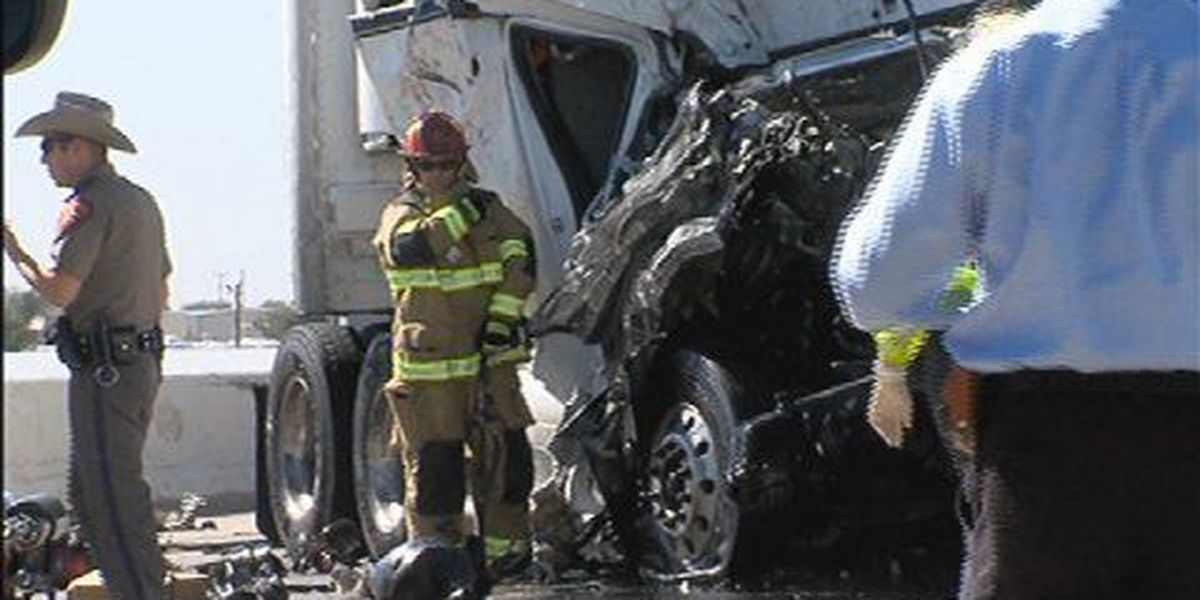 Traffic diverted off I-40 east bound lanes near Helium Road after major wreck