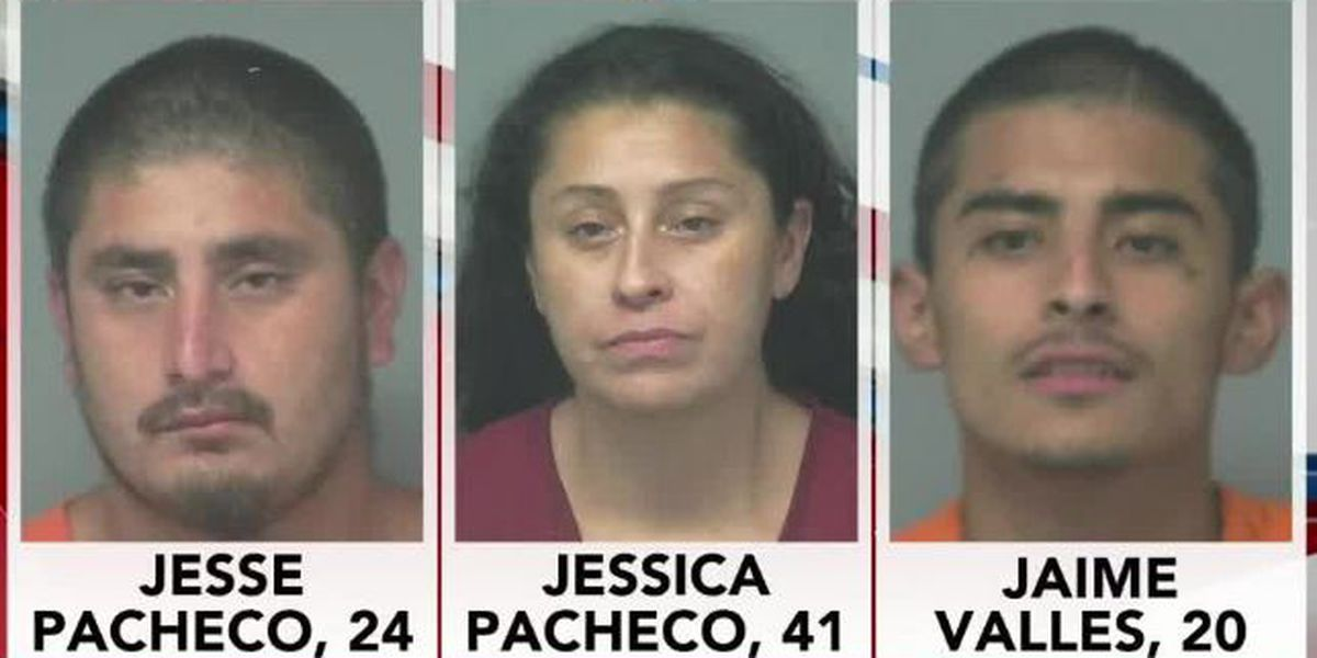 3 arrested after authorities find disguised stolen vehicle at Amarillo impound