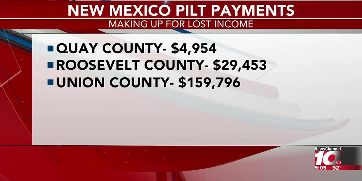 N.M. counties to receive federal payments to make up for lost income