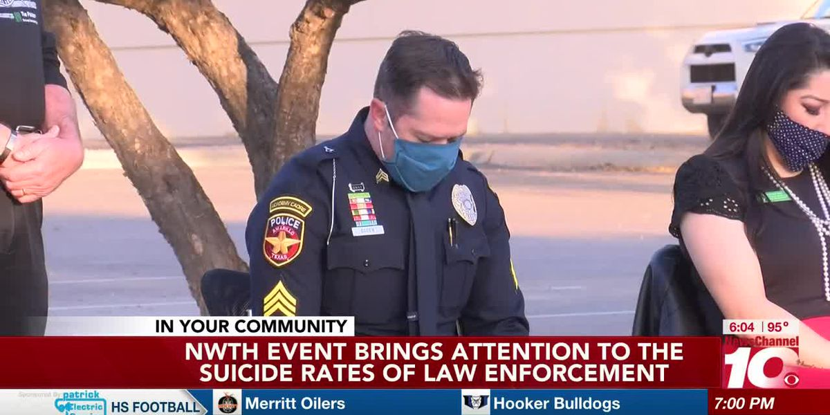 Law enforcement has high suicide rates, mental health options available