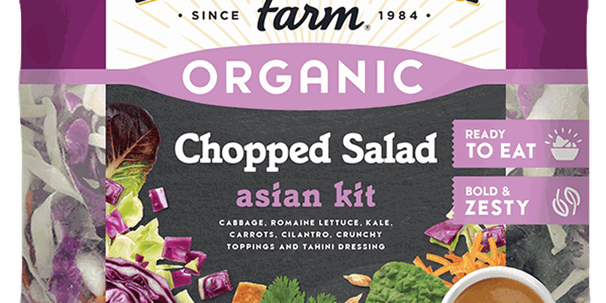 RECALL ALERT: Allergy alert for one batch of Earthbound Farm Organic Chopped Asian Style Salad Kit