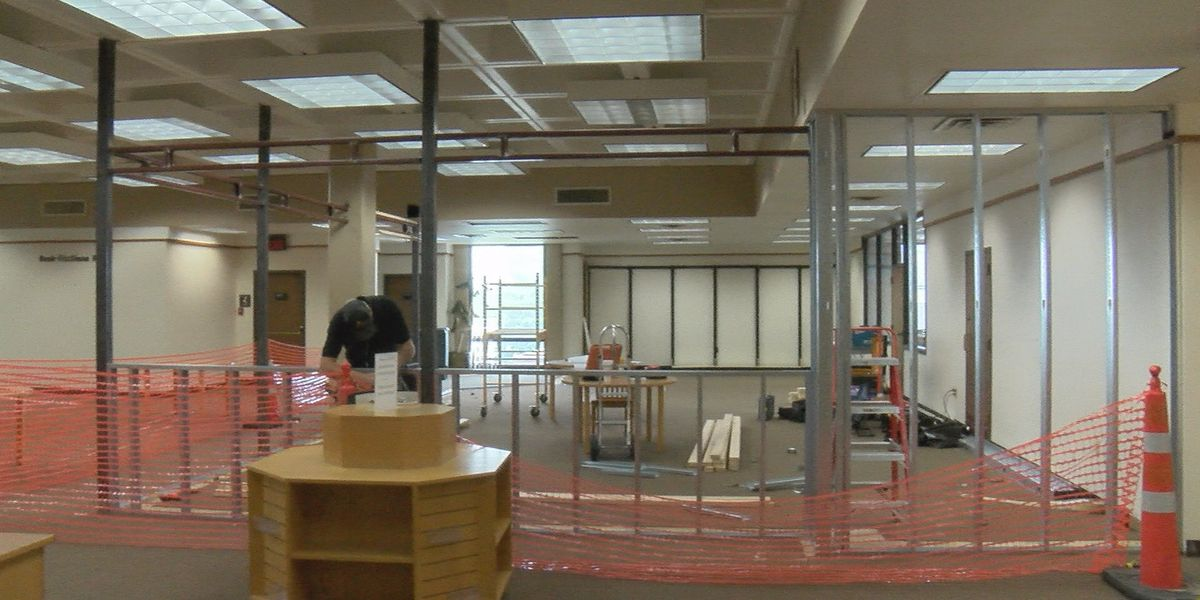 Downtown library begins construction on new makerspace for crafters
