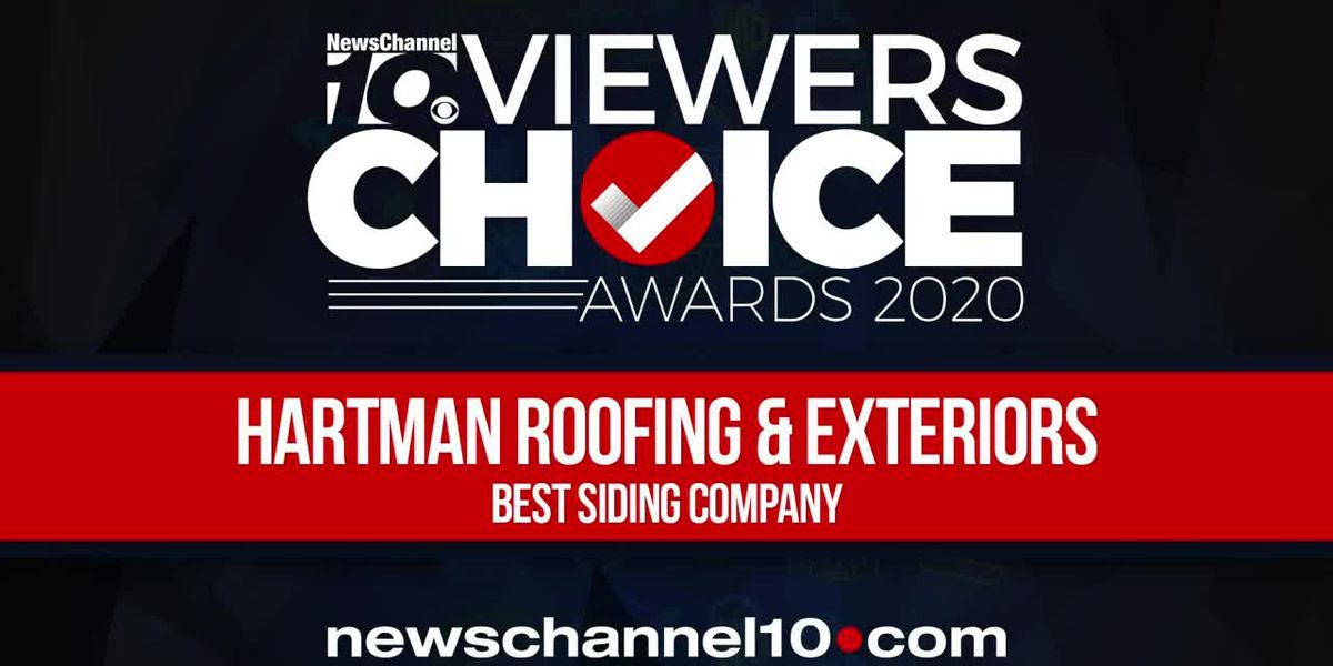 VIEWERS CHOICE AWARDS: HARTMAN ROOFING & EXTERIORS WINS BEST SIDING COMPANY