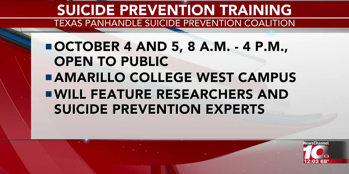 VIDEO: Texas Panhandle Suicide Prevention Coalition to show community members how to cope with loss of a loved one