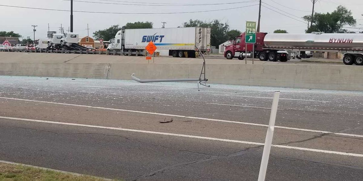 Lanes on I-40 and Grand reopened after morning wreck