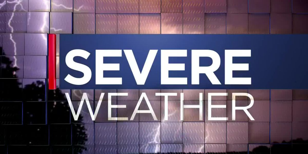 Sever Weather Update @ 4:50 p.m.
