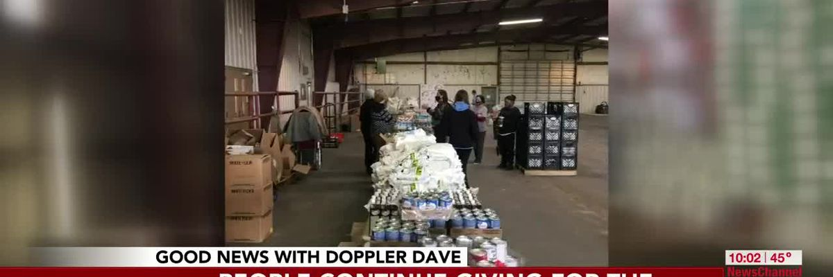 VIDEO: GOOD NEWS: People continue to give for this holiday season