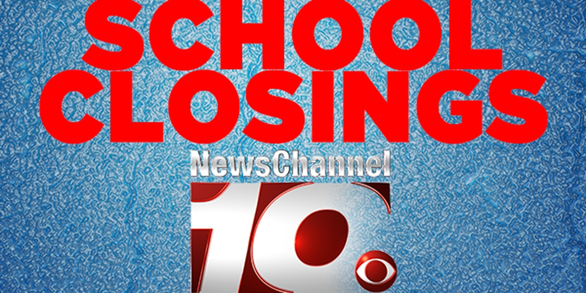 School closings and delays for Thursday