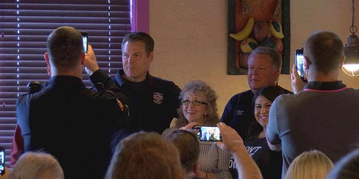 Amarillo firefighters honored as 'First Responders of the Month'