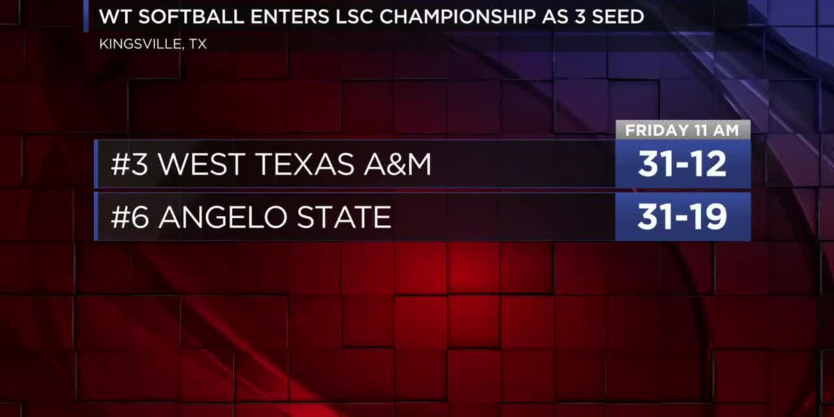 WT Softball finishes regular season, will play in LSC Championships this week