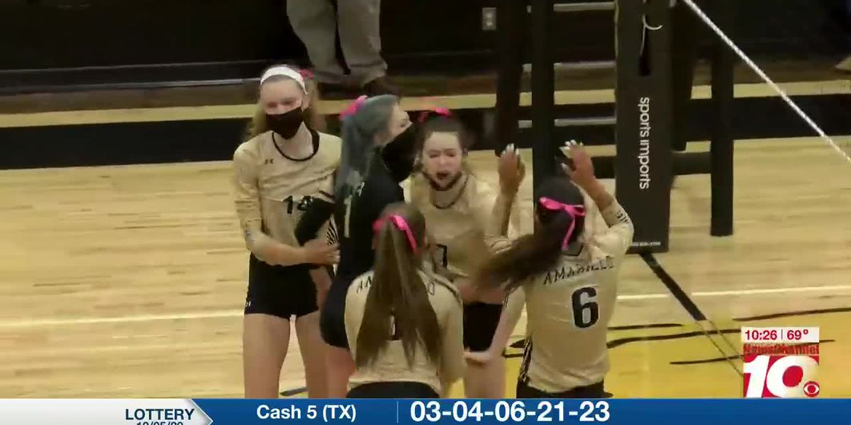 Volleyball Highlights: Tascosa vs. Amarillo High