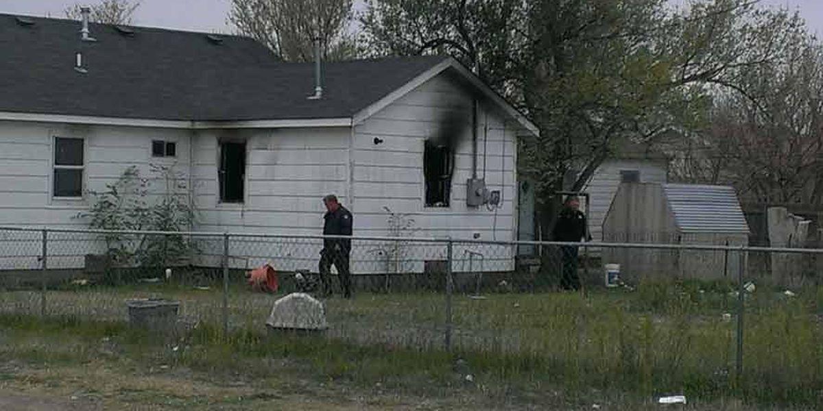 Occupants unharmed in NE Amarillo house fire