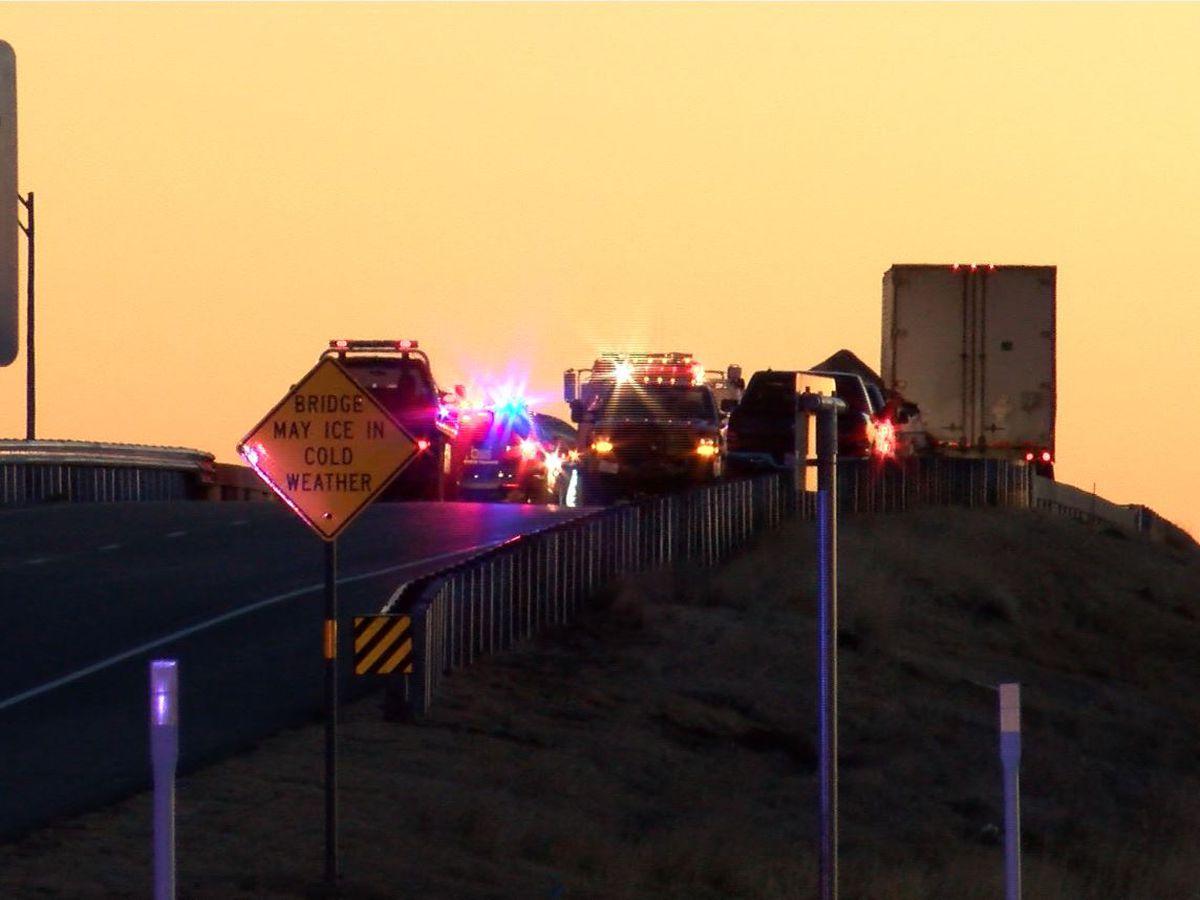 Traffic on U.S. 60 normal again following morning wreck