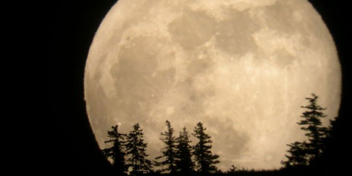 Largest Supermoon in 68 Years