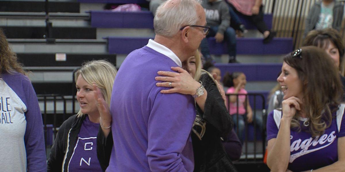 Canyon High School Girl's Basketball Legendary Head Coach Joe Lombard retires