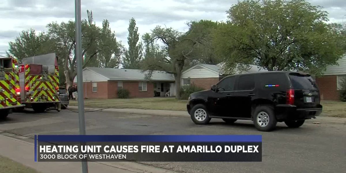 Officials: Fire at Amarillo duplex caused by heating unit